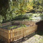 Picket fence and a new garden plan